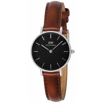[ダニエルウェリントン] 腕時計 Classic Petite Black St Mawes DW00100237 レディース ブラウン [並行輸入品]