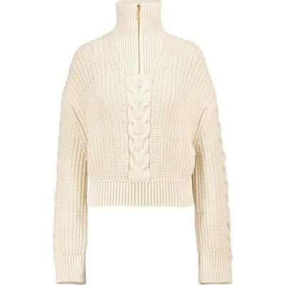 ナヌシュカ Nanushka レディース ニット・セーター トップス Eria cotton-blend sweater Creme