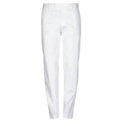 BOSS HUGO BOSS パンツ ホワイト 46 コットン 98% / ポリウレタン 2% パンツ