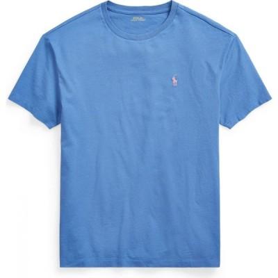 ラルフ ローレン POLO RALPH LAUREN メンズ Tシャツ トップス custom slim crewneck t-shirt Pastel blue