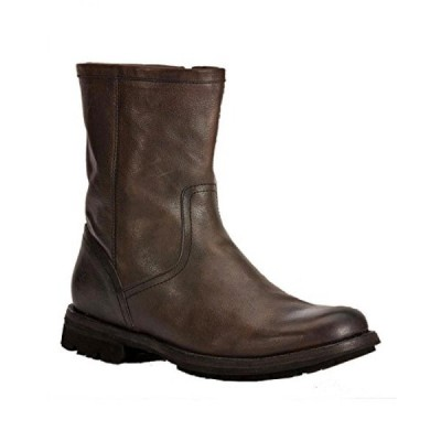 フライ メンズ ブーツ Frye Men's Phillip Lug Inside Zipper Boot Dark Brn US