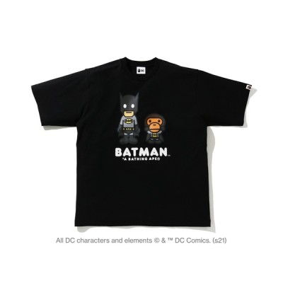 tシャツ Tシャツ BAPE X DC BABY MILO BATMAN RELAXED FIT TEE M