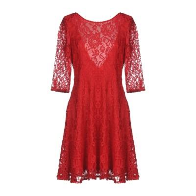 VICOLO ミニワンピース&ドレス レッド M 100% ポリエステル ミニワンピース&ドレス