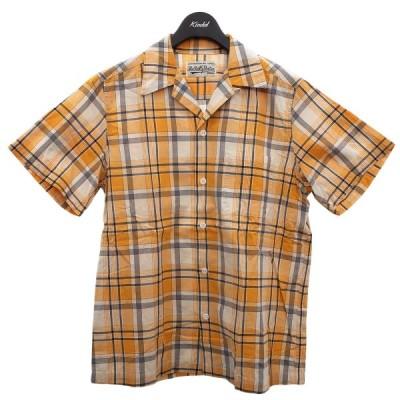 WACKO MARIA 半袖オープンカラーシャツ イエロー サイズ:S (明石店) 210301