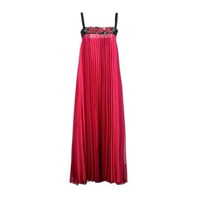 ANNA RACHELE ロングワンピース&ドレス フューシャ 40 ポリエステル 100% / ポリウレタン ロングワンピース&ドレス