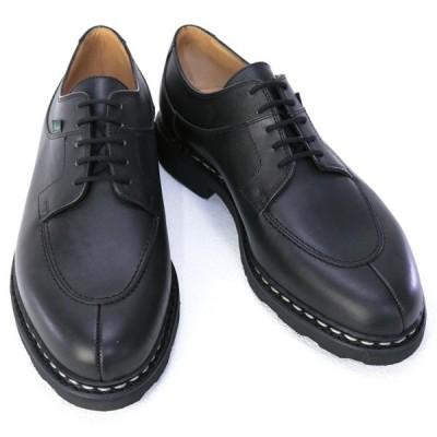 パラブーツ PARABOOT 靴 メンズ AVIGNON アヴィニョン  ビジネスシューズ レースアップシューズ ブラック (705109 AVIGNON NOIR) 2020年秋冬