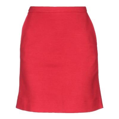 マジェスティック MAJESTIC FILATURES ひざ丈スカート レッド 1 ウール 97% / ナイロン 3% ひざ丈スカート