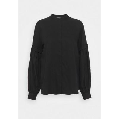 ブルンスバザー シャツ レディース トップス PRALENZA CINE SHIRT - Button-down blouse - black