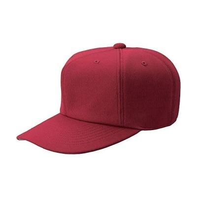 ZETT(ゼット) 野球用 帽子 六方オールニットキャップ BH121 (エンジ(6800) L)