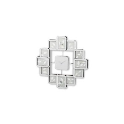 メタルクロックフレーム 壁掛け フォトフレームクロック 壁 写真時計