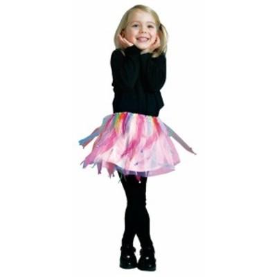 ハロウィン 衣装 子供 コスプレ 女の子 ピンクレインボー チュチュ Pink Rainbow Tutu 仮装 コスチューム ハ