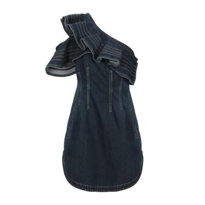 LEE x SELF-PORTRAIT ミニワンピース&ドレス ブルー 6 コットン 100% ミニワンピース&ドレス