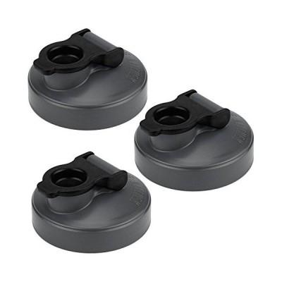 County Line Kitchen - Mason Jar Flip Cap Lid, Durable, Airtight, Leak-Proof