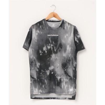 tシャツ Tシャツ 997S プリント ヘザーテック ショートスリーブ Tシャツ