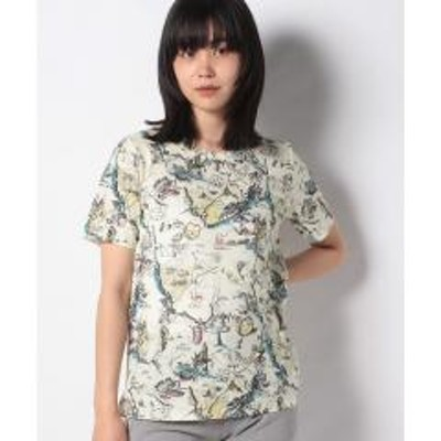Leilian(レリアン)マップイラストTシャツ