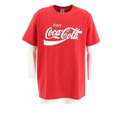コカコーラ(Coca-Cola)半袖Tシャツ Enjoy1 L-7RD