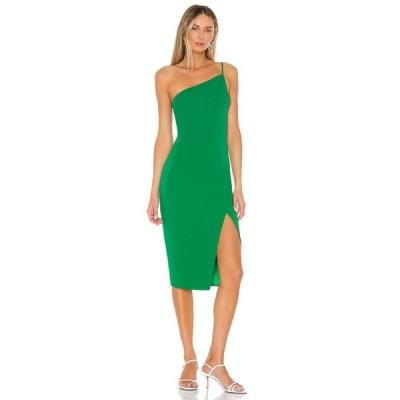 ラヴァーズフレンズ Lovers + Friends レディース ワンピース ミドル丈 ワンピース・ドレス Lazo Midi Dress Green