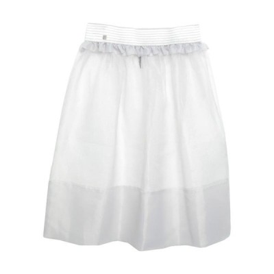 MANILA GRACE 七分丈スカート  レディースファッション  ボトムス  スカート  ロング、マキシ丈スカート ライトグレー