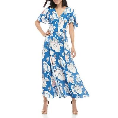 フレンチコネクション レディース ワンピース トップス Cai Floral Wrap Dress