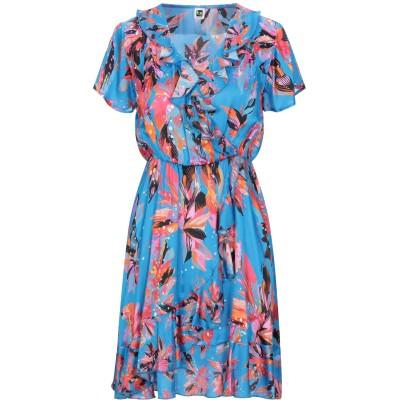 ビブロス BYBLOS ミニワンピース&ドレス アジュールブルー 38 レーヨン 70% / シルク 30% ミニワンピース&ドレス