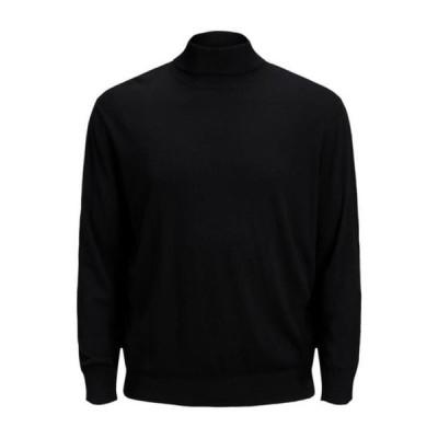 ジャックアンドジョーンズ メンズ スウェット JJEEMIL ROLL NECK - Sweatshirt - black