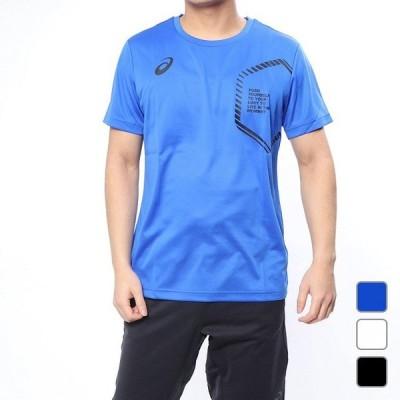 アシックス LIMO ショートスリーブトップ 2031A668 メンズ 半袖シャツ バレーボール ランニング トレーニング スポーツ ウェア asics