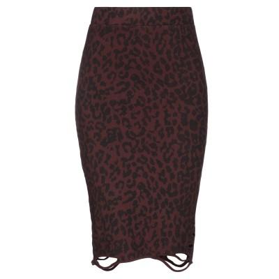 NSF ひざ丈スカート ココア XS コットン 100% ひざ丈スカート