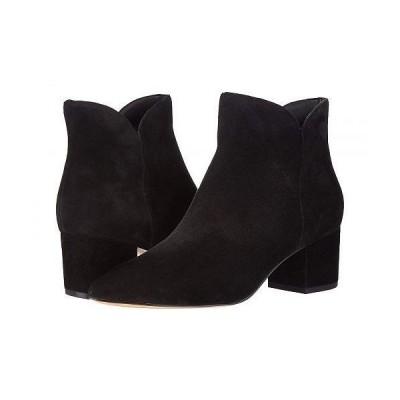 Cole Haan コールハーン レディース 女性用 シューズ 靴 ブーツ アンクル ショートブーツ Elyse Bootie 60 mm - Black Suede