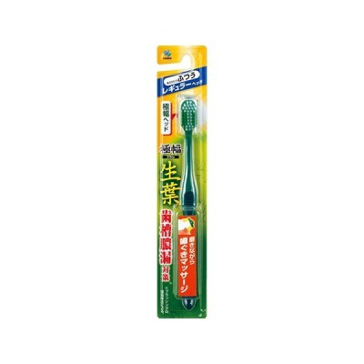 [小林製薬]生葉極幅ブラシ レギュラーヘッド ふつう 1本※色はお選びいただけません。