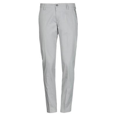 EREDI DEL DUCA パンツ ライトグレー 46 コットン 97% / ポリウレタン 3% パンツ