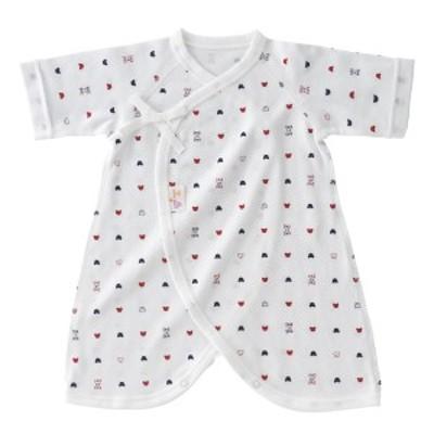 赤ちゃんの城 コンビ肌着 トリコロール(プチサイズ)