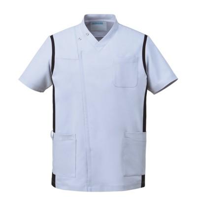 974 KAZEN メンズスクラブ(前開き) ナースウェア・白衣・介護ウェア