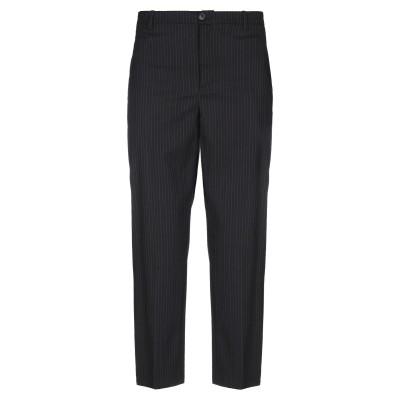 マウロ グリフォーニ MAURO GRIFONI パンツ ブラック 44 バージンウール 98% / ポリウレタン 2% パンツ