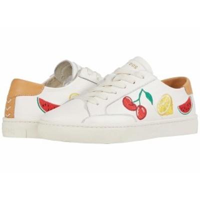 ソルドス レディース スニーカー シューズ Fruit Salad Ibiza Sneaker White