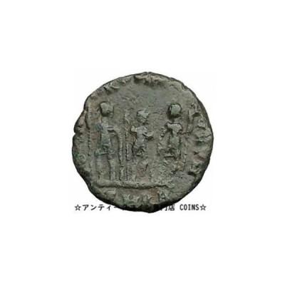 金貨 銀貨 硬貨 シルバー ゴールド アンティークコイン Arcadius 388AD Ancient Roman Coin Three empero