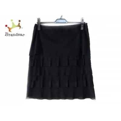 ヴィヴィアンタム VIVIENNE TAM スカート サイズ0 XS レディース 美品 黒 ティアード       スペシャル特価 20200311