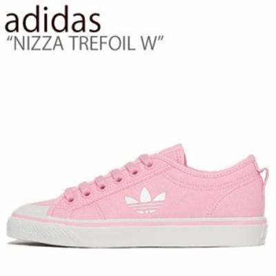 アディダス スニーカー ADIDAS レディース NIZZA TREFOIL W ニッツァ トレフォイル PINK WHITE ピンク ホワイト EF1877 シューズ