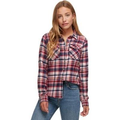 マーモット レディース Tシャツ トップス Bridget Midweight Flannel Shirt Claret