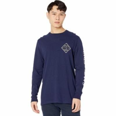 ソルティークルー Salty Crew メンズ 長袖Tシャツ ティペット トップス Tippet Topsail Standard Long Sleeve T-Shirt Navy