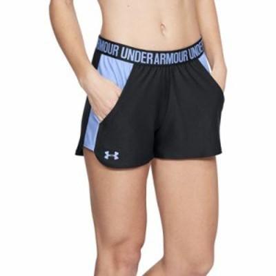 アンダーアーマー ショートパンツ 3 Play Up Shorts 2.0 Black/Talc Blue