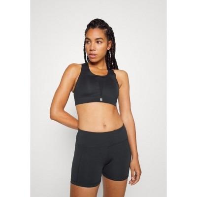 スウェッティベティ カットソー レディース トップス ALL TRAIN SPORTS BRA - Medium support sports bra - black