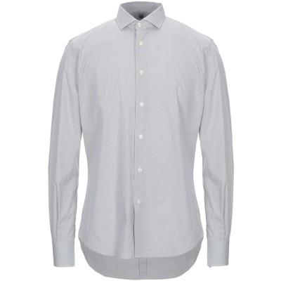 LAB. PAL ZILERI シャツ ホワイト 41 コットン 73% / ナイロン 24% / ポリウレタン 3% シャツ
