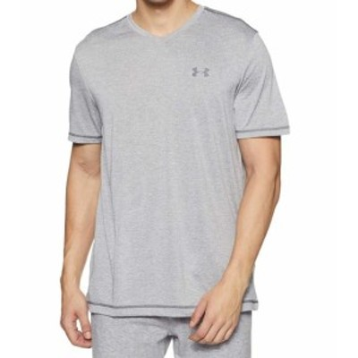 Under Armour アンダー アーマー ファッション トップス Under Armour Gray Mens Size Small S V-Neck Tech Short Sleeve T-Shirt