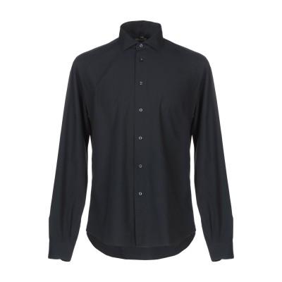 MICHAEL COAL シャツ ブラック 40 コットン 100% シャツ