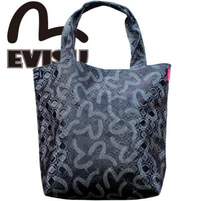 EVISU エヴィス カバン トートバッグ 鞄 ジャガード モノグラム コーティング