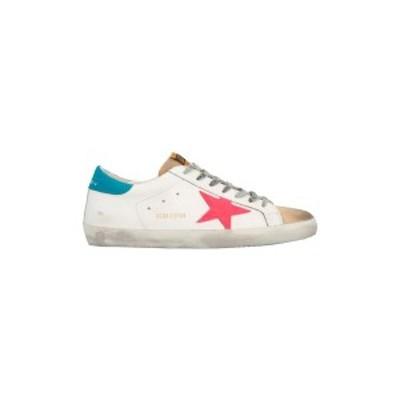GOLDEN GOOSE DELUXE BRAND/ゴールデン グース デラックス ブランド Bianco 'Superstar' sneakers メンズ 春夏2021 GMF00101F000347803
