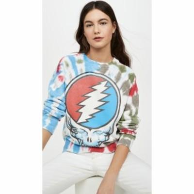 メイド ウォーン MADEWORN ROCK レディース スウェット・トレーナー トップス Grateful Dead Tie Dye Sweatshirt Day Trip