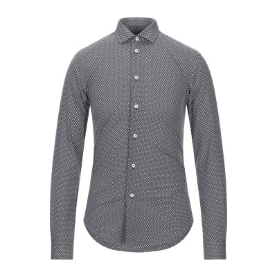 ブライアン デールズ BRIAN DALES シャツ ブラック 38 コットン 100% シャツ