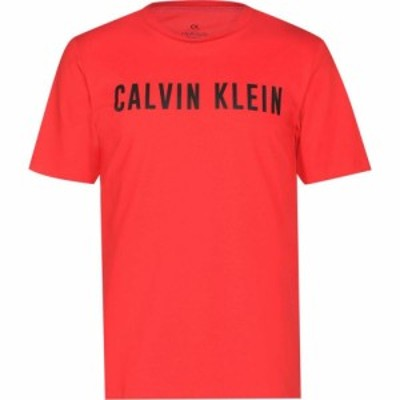 カルバンクライン Calvin Klein Performance メンズ Tシャツ ロゴTシャツ トップス Logo Short Sleeved T Shirt Red/Black