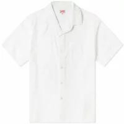 Arpenteur メンズシャツ Arpenteur Short Sleeve Pyjama Shirt White